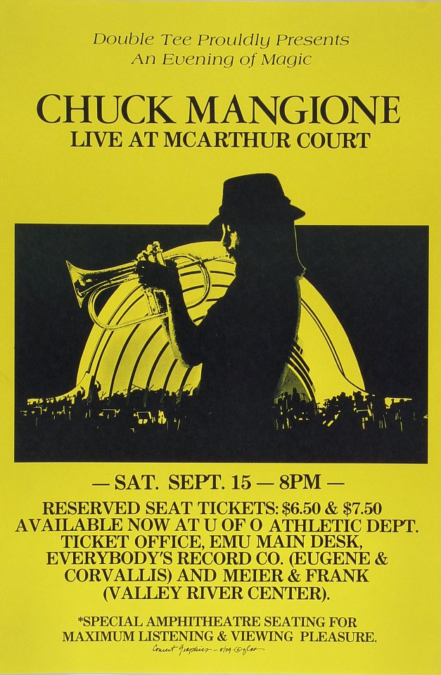 Chuck Mangione Poster