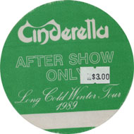 Cinderella Backstage Pass