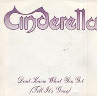 """Cinderella Vinyl 7"""" (Used)"""