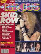 Circus Magazine 20th Anniversary September 1989 Magazine