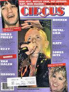 Circus Magazine July 31, 1986 Magazine