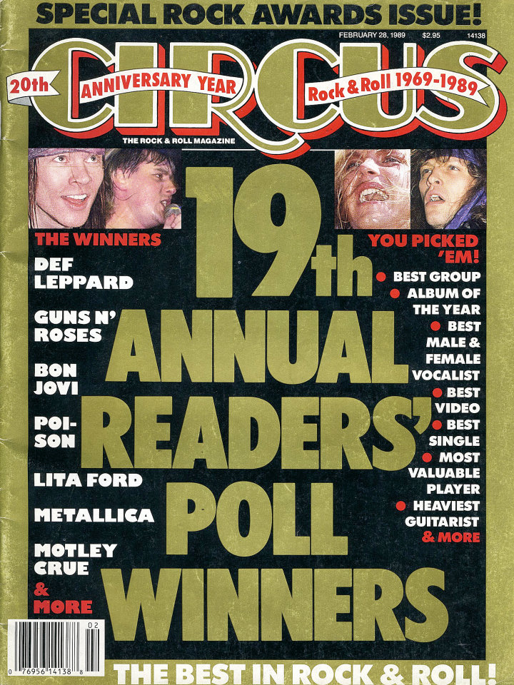 Circus: Special Rock Awards Issue
