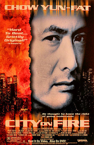 City on Fire Poster