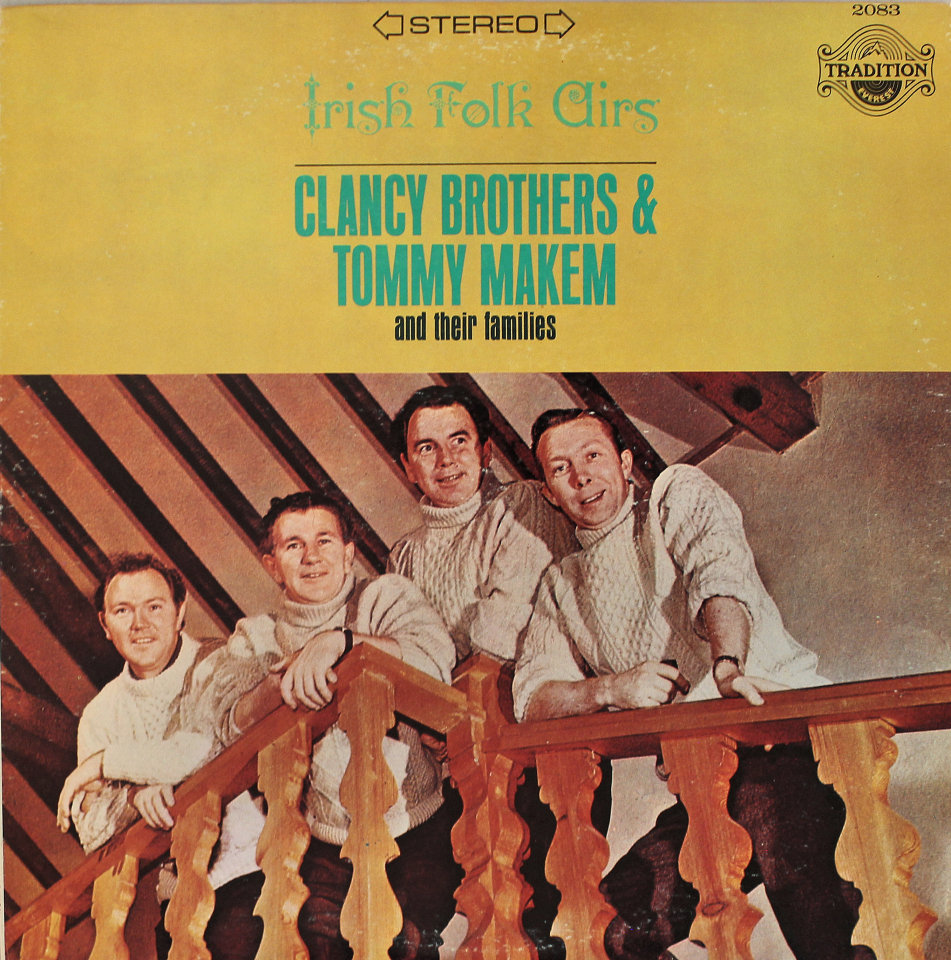 """Clancy Brothers & Tommy Makem and their families Vinyl 12"""" (Used)"""
