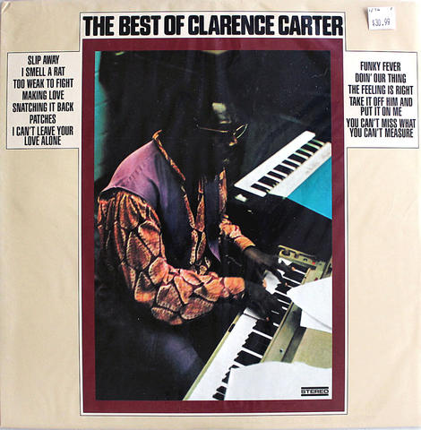 "Clarence Carter Vinyl 12"" (New)"