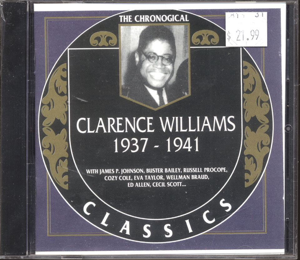 Clarence Williams CD