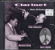 Clarinet - New Orleans Style CD