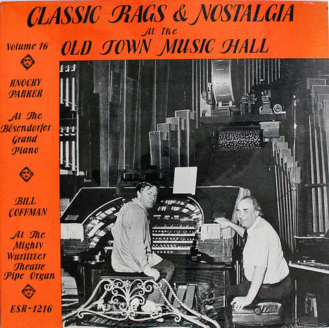 "Classic Rags & Nostalgia At The Old Town Music Hall Vinyl 12"" (New)"