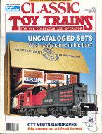 Classic Toy Trains Vol. 5 No. 2 Magazine