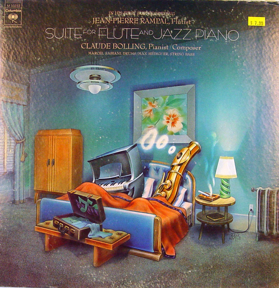"Claude Bolling Vinyl 12"""