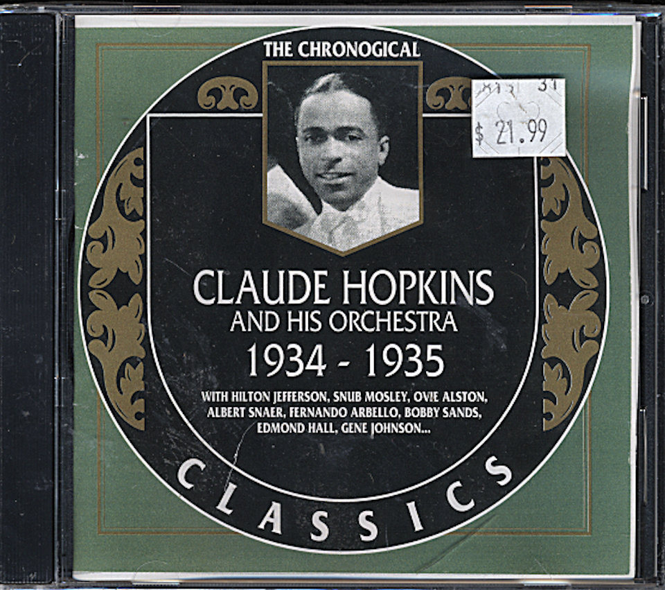 Claude Hopkins And His Orchestra CD