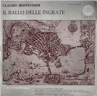 """Claudio Monteverdi Vinyl 12"""" (Used)"""