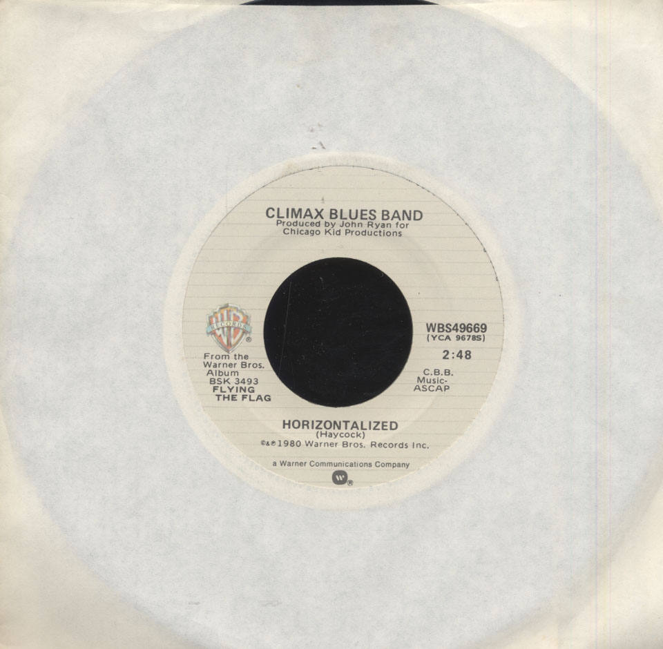 "Climax Blues Band Vinyl 7"" (Used)"