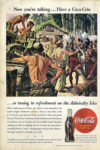 Coca-Cola: Admiralty Isles Vintage Ad