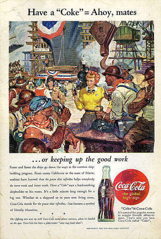 Coca-Cola: Ahoy, Mates Vintage Ad