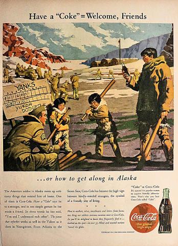 Coca-Cola: Alaska Vintage Ad