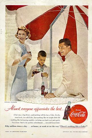 Coca-Cola: Almost Everyone Appreciates The Best Vintage Ad