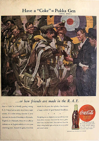 """Coca-Cola: Have A """"Coke"""" Vintage Ad"""