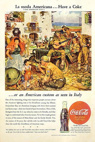 Coca-Cola: La Moda Americana... Vintage Ad