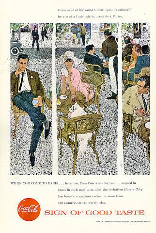 Coca-Cola: Paris Vintage Ad
