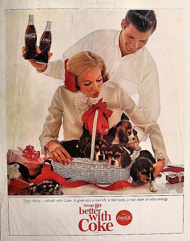 Coca-Cola: Stay Merry Vintage Ad
