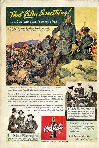 Coca-Cola: That Extra Something! Vintage Ad