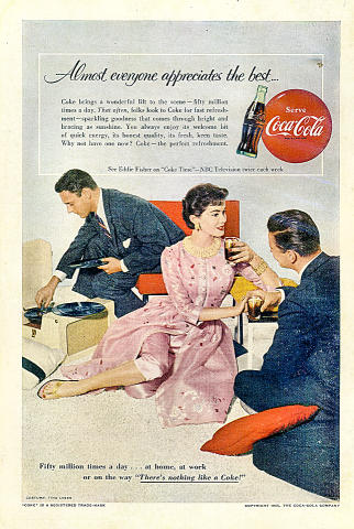 "Coca-Cola: ""There's Nothing Like A Coke"" Vintage Ad"