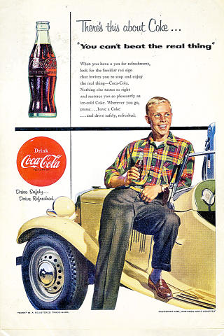 Coca-Cola: There's This About Coke... Vintage Ad