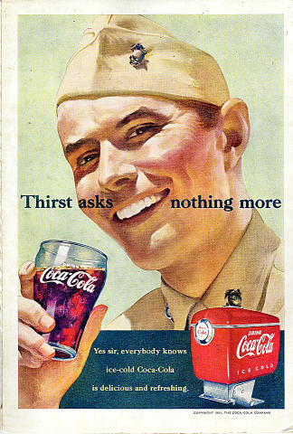Coca-Cola: Thirst Asks Nothing More Vintage Ad