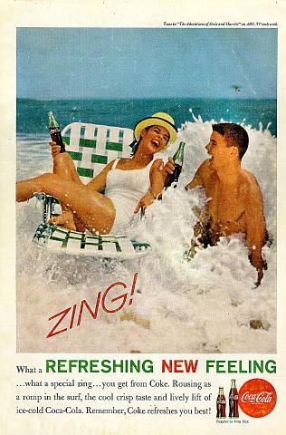 Coca-Cola: Zing! Vintage Ad