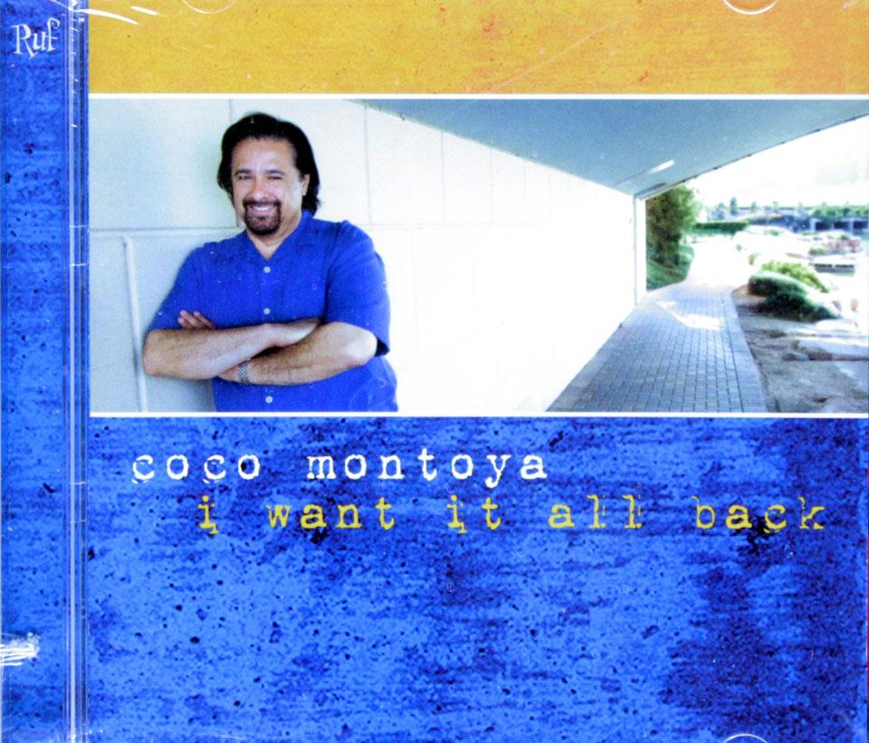 Coco Montoya Cd 2010 At Wolfgang S