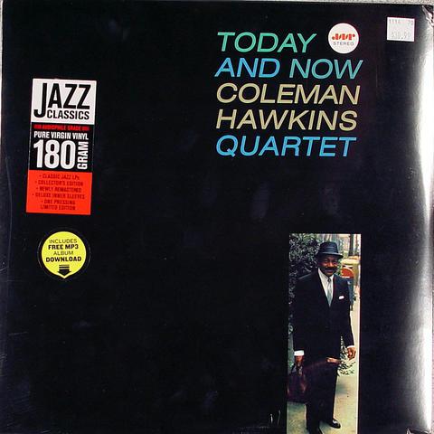 """Coleman Hawkins Quartet Vinyl 12"""" (New)"""