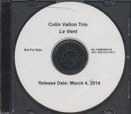 Colin Vallon Trio CD
