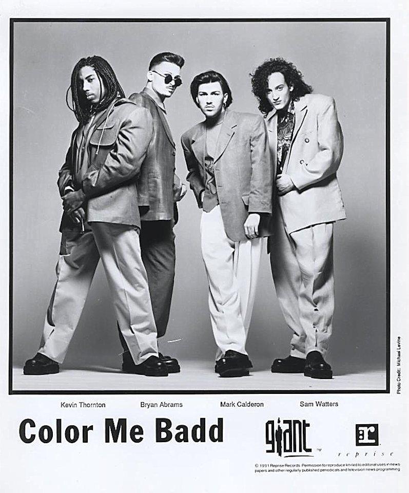 Color Me Badd Promo Print
