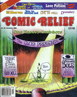 Comic Relief Vol. 8 No. 93 Comic Book