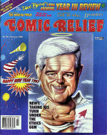 Comic Relief Vol. 9 No. 95 Comic Book