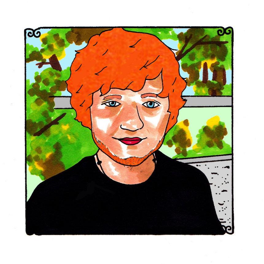 Ed Sheeran Jan 7, 2013