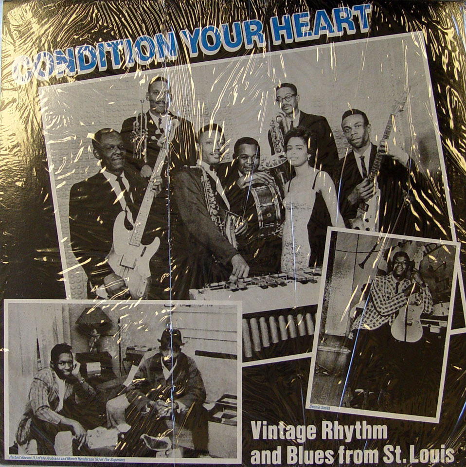 "Condition Your Heart: Vintage Rhythm And Blues From St. Louis Vinyl 12"" (New)"