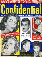 Confidential Magazine March 1957 Magazine