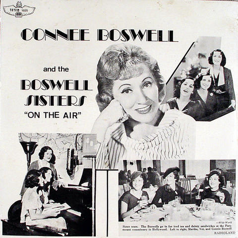 """Connee Boswell And The Boswell Sisters Vinyl 12"""" (New)"""