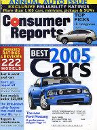Consumer Reports Vol. 70 No. 4 Magazine