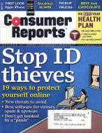 Consumer Reports Vol. 72 No. 9 Magazine