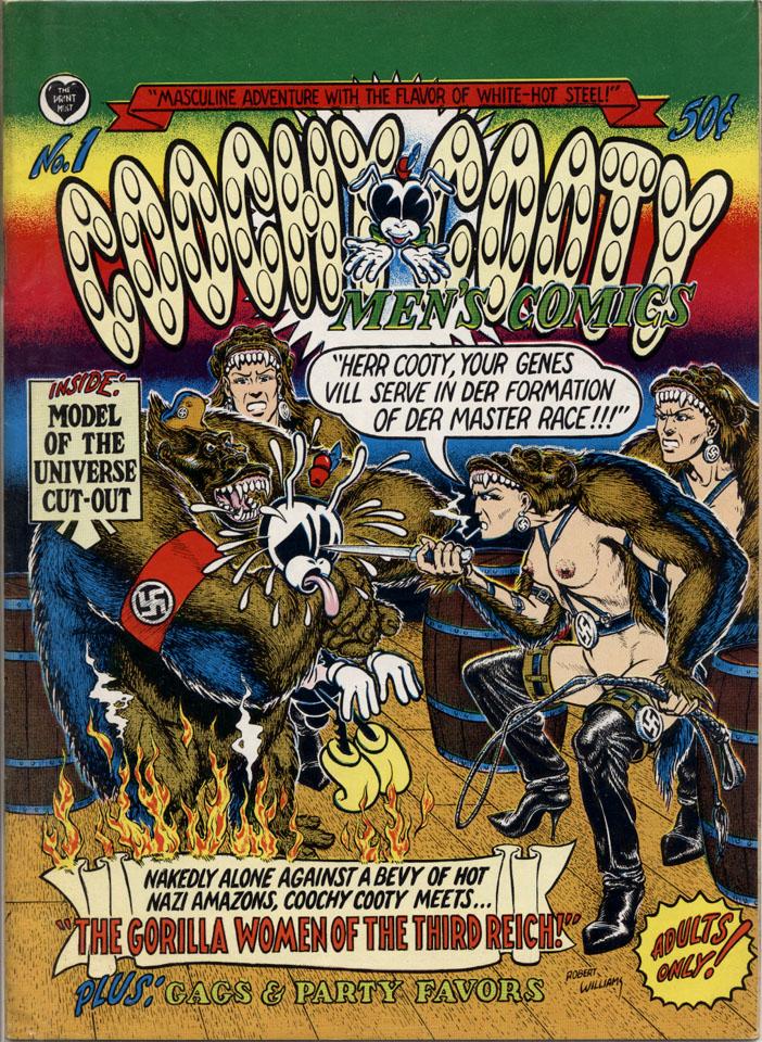Coochy Cooty Men's Comics No. 1 Comic Book