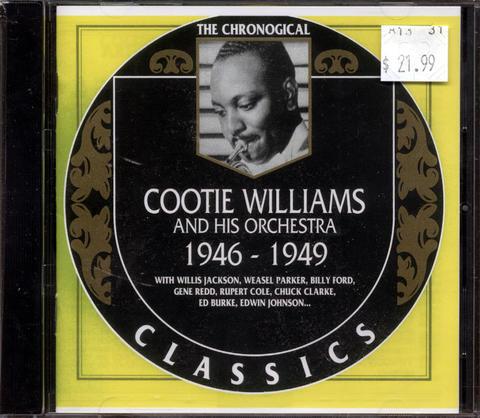 Cootie Williams CD