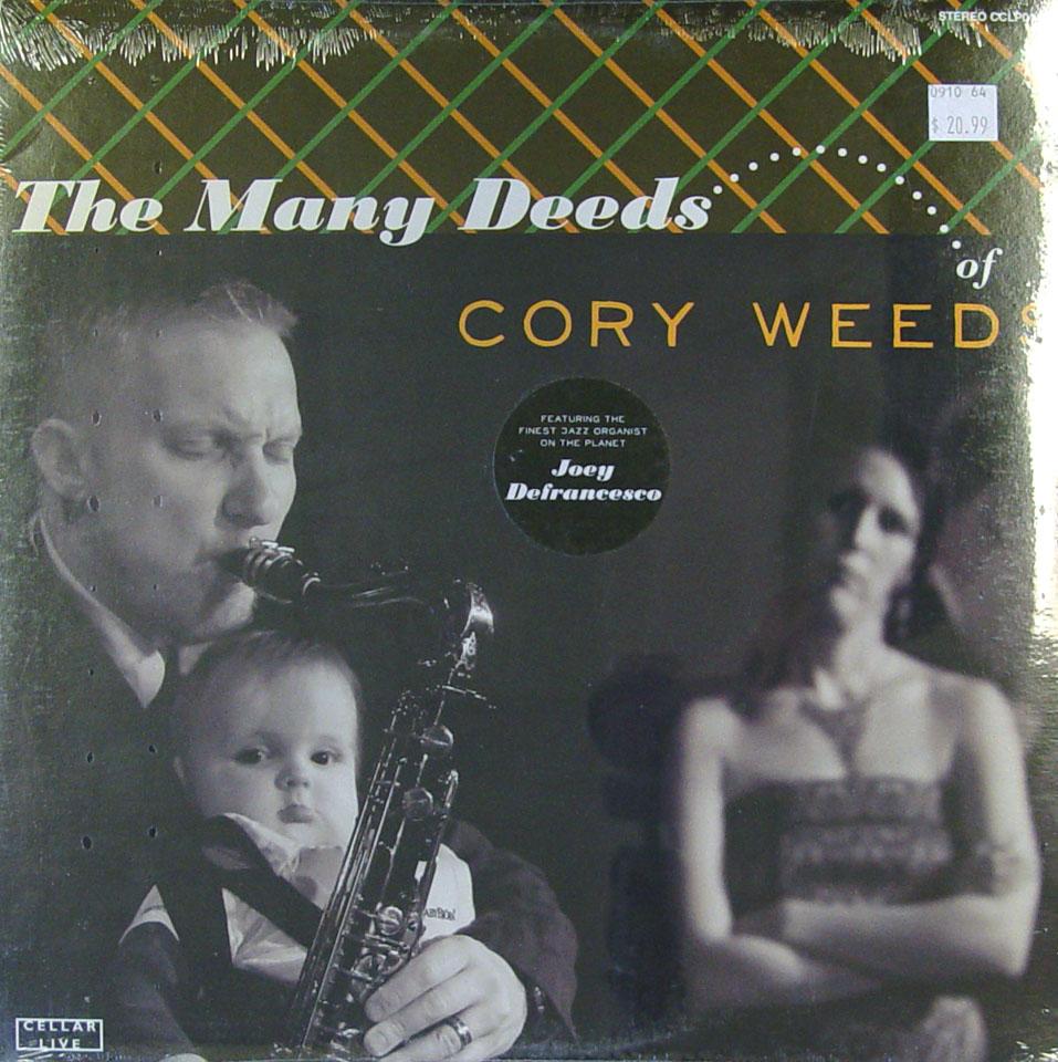 "Cory Weeds Vinyl 12"" (New)"