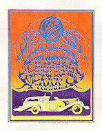 Cosmic Car Show: A Benefit for Delano Grape Strikers Handbill