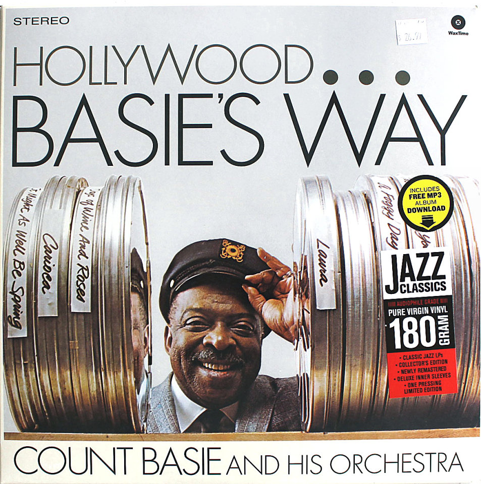 """Count Basie and His Orchestra Vinyl 12"""" (New)"""