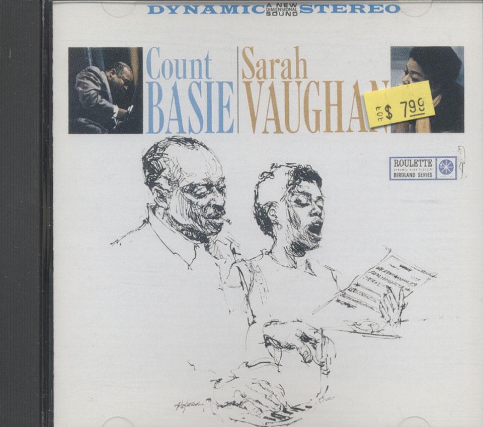 Count Basie & Sarah Vaughan CD