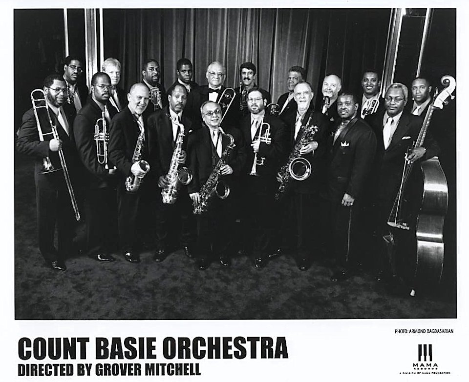 Count Basie Orchestra Directed By Grover Mitchell Promo Print