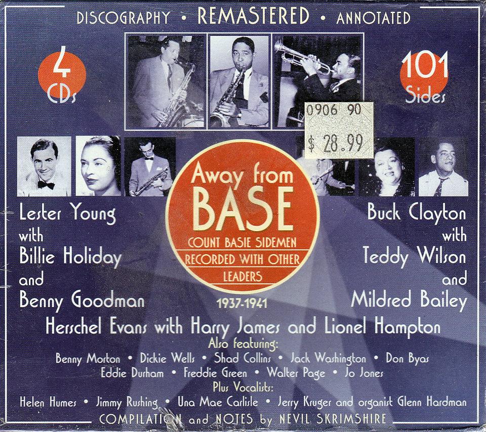 Count Basie Sidemen CD